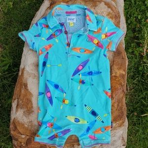 Ted Baker Baby boys stretchy romper 3 to 6 months 00